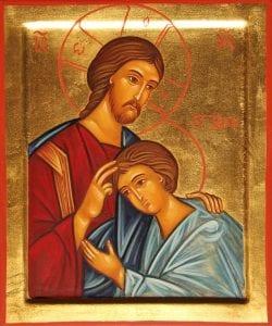 Christ et Saint Jean