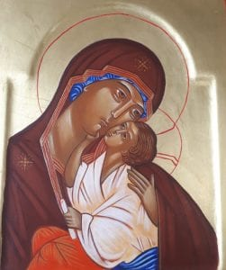 icone de la vierge marie
