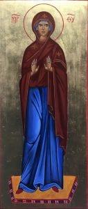 icone la vierge orante