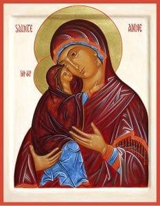 Sainte Anne et Marie